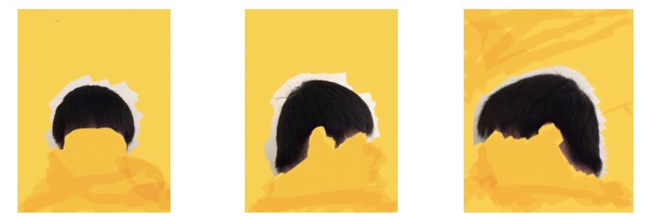 【画像あり】髪型に悩んでいます! 高校生の男です。 剛毛な髪質でセットがしにくいです!! 頭の形や髪質などからどんな髪型が良いと思いますか? 出来ればマッシュやセンターパート系のモテ髪にしたいんですけど出来ますか? (美容院でどんなオーダーをすればいいかも良ければお願いします!!)