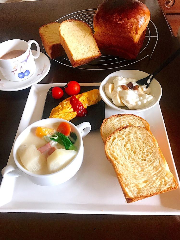 男子中学生の朝食と言えば、これですよね?