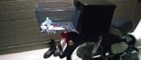 スーパーカブ50にリアボックスと自転車のかごを付けてみたんですが、コレって大丈夫ですか?