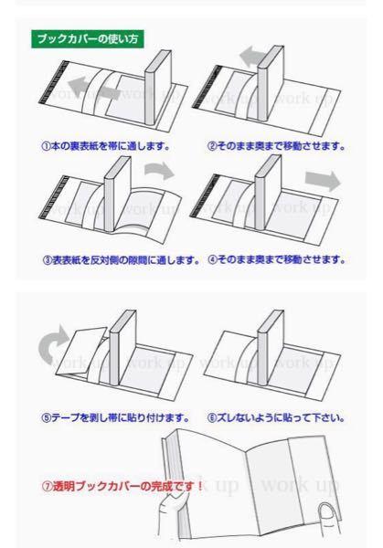 こういう漫画の透明なブックカバーではなく、漫画全体が入る透明な袋ってありませんか? 漫画専用の袋でなくても漫画1冊入る大きさの透明な袋があったら教えてください。 Amazonで探しても画像のよ...