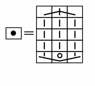 編み物について質問あります。 棒針初心者ですみません。 画像の様な増やし目?の場合、どの様に編んだらいいのかわかりません。 増やし目にもたくさん種類があります。 図的には表増やし目、かけ目増やし...