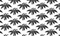 和柄の(笹)について質問です! よく見る友禅などに描かれてる笹なんですが、 葉の上に鳥の足みたいなのは何ですか? 実際の竹の葉や笹には、そんな虫の触覚みたいなのは生えてません!