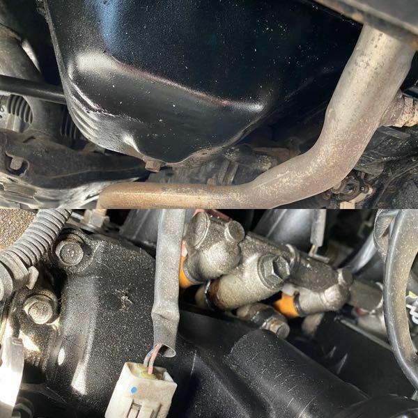 L550sムーヴラテに乗っています。エンジンからオイルが滲み出ている感じになっているのですがこの年式のエンジンや車種には結構ある事ですか?また、盛れている場所は大体どこから漏れているのですか?