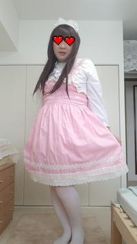 女装しました。 ロリータファッションです。 感想など何でも良いので、お願いいたします (^-^)/