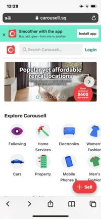 以下のサイトに詳しい方教えて頂けないでしょうか?  https://www.carousell.sg/   どこの国のサイトですか?  オークションサイトですか? 誰でも購入できるサイトですか?  宜しくお願いします。