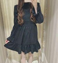 量産型の服装をしてみたいのですが、 骨格ストレートにこの服は似合いますか?(><) 身長は163cm程です。