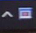 PC初心者です。 パソコンをしていたら画面がいきなり動かなくなり、パソコンのタスクバーの上向きの矢印みたいなマークの横に 青と白と赤のこのようなマークが出ていました。 今まで出たことがないマーク...