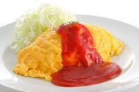 オムライスの卵はトロトロ派ですか固焼き派ですか。