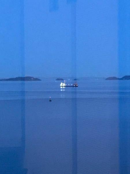 広島 鞆の浦 この船は何をしていますか? 4月10日 18時51分