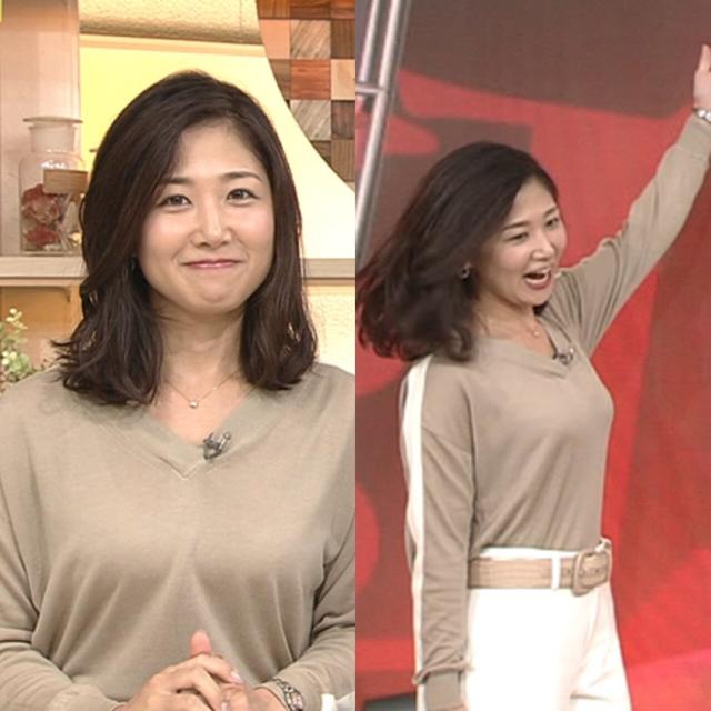 桑子真帆、元アナウンサーの胸は豊満だと言えるのでしょうか…?