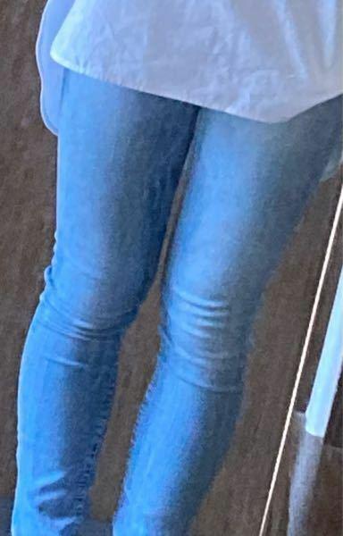 この足でスキニー履くのはダサいですか?