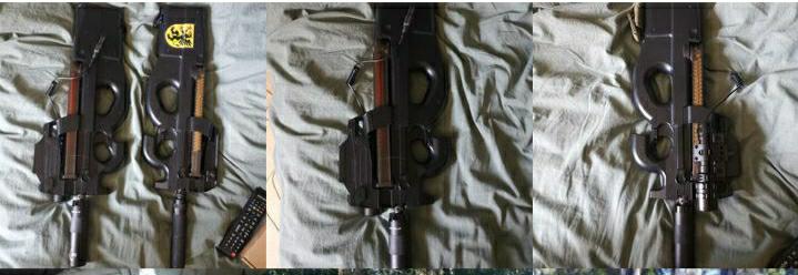 ☆★詳しい方お願いします★☆ 下記のかぞうの銃はなんという名前ですか? スウェーデンの方の物です。 宜しくお願いします!!
