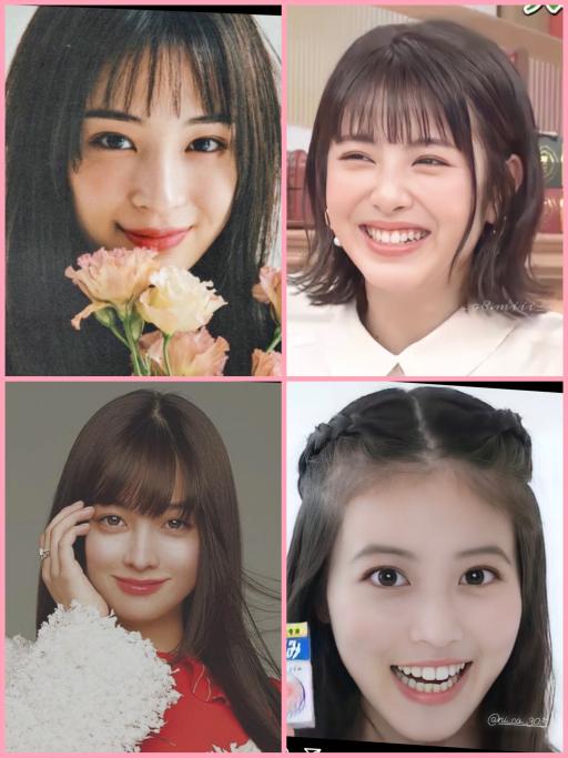広瀬すず、橋本環奈、今田美桜、浜辺美波の4人だったら誰の顔に1番なりたいですか? あと、福岡で...