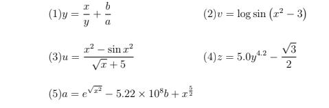 C言語の課題で困っています。 以下の画像の計算式をC言語で表記するという設問です。 ご教授のほどお願いします。