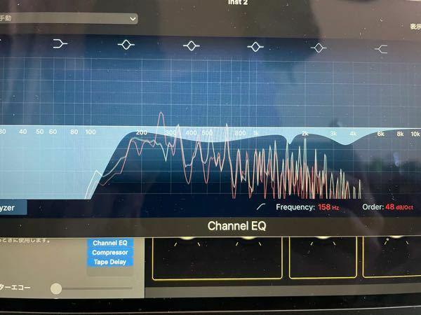 ピアノのEQについて。 ローカットをした後q幅を狭めて聴診器のように耳障りな音を探しキンキンする高音をカット。また、中音域を少しカットしたのですが正直これが正しいのかわからないです。 詳しい方アドバイスお願いします。