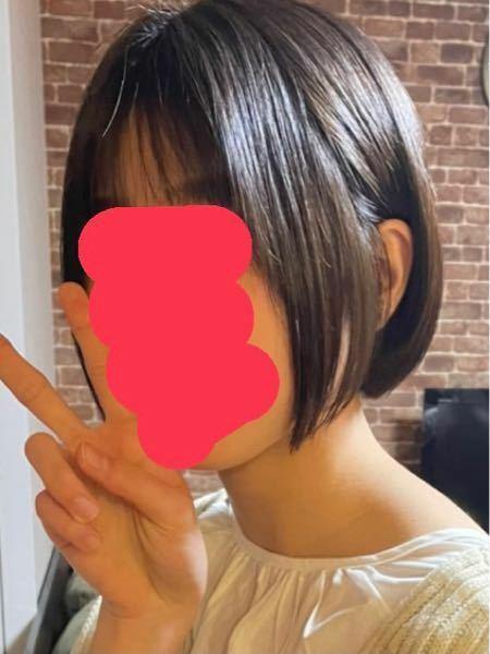 この髪型おかしいですか?切りすぎました。ほんとに。ボブヘアにしたかったのに、ショートボブになりました。。伝え方が悪かったかもしません。耳にかけたら多少マシになるかなと思ってやってみました。かわいくない ですよね?もっと女の子らしいボブがよかった…
