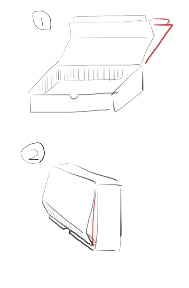 ダンボールの折れを補強したいんですが何を貼れば良いでしょうか? 要らなかったダンボールを使って作った箱なんですが棚の隙間に収まるよう・内寸も入れる物ピッタリに作ったのでダンボールの補強にダンボールは使えませんでした。プラダンもダンボール同様の理由でダメでした。外側も後々白色に塗装し布を貼る予定なのでボコボコさせたくないということもあります。 画像は直したいダンボールを描いたものです。 赤の...