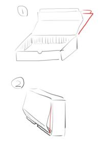 ダンボールの折れを補強したいんですが何を貼れば良いでしょうか? 要らなかったダンボールを使って作った箱なんですが棚の隙間に収まるよう・内寸も入れる物ピッタリに作ったのでダンボールの補強にダンボールは...
