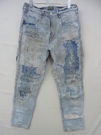大喜利   画期的なダメージジーンズの作り方を教えてください