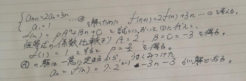 この解き方は東大入試でやっていいですかね? こんなの単体では出てきませんが、大問の中で解く必要が出てきたとき、時間や書くスペースを省略できますし…。