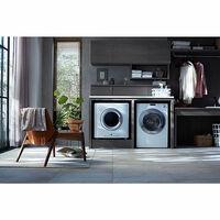 写真のように幹太くんを横置きで使う際にオススメの洗濯機を教えて下さい。 (上を天板にするため、洗濯機の上を使用しないモデル)