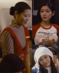 2007年に公開されたイジュンギと宮崎あおい主演の日韓合作映画「初雪の恋 ヴァージン・スノー」に出演している添付画像の3人の女優さんの名前を 教えてください。