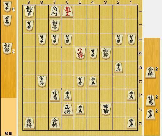 実践詰将棋。この7手詰め簡単そうに見えて難しいと思わないですか?