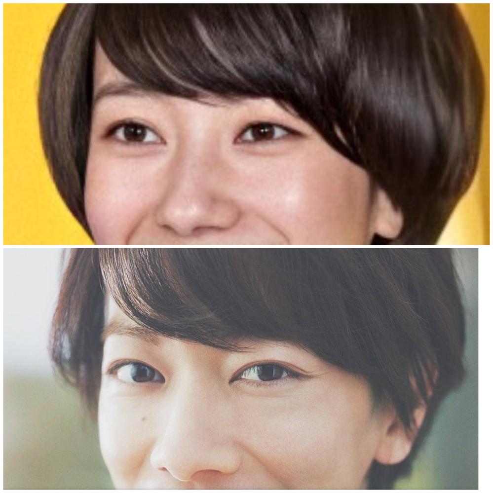画像上、波瑠さん。下、佐藤健さん。 めちゃくちゃ似てますよね。 以前、佐藤健さんが「妹が波瑠さんに そっくり。」と話していたのも納得します。