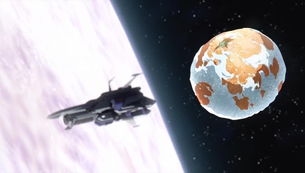 月から地球に向けてミカンを投げたら 地球で流れ星になりますか?
