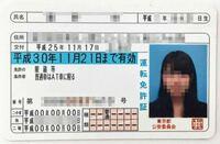 免許証に着いてなんですが、この免許証には、AT限定に限ると書いてありますが、この場合原付は運転できるのですか?