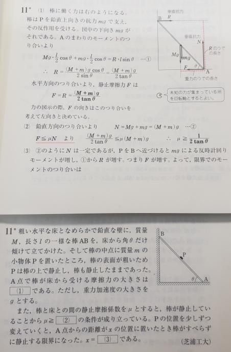 どうして物体pの周りに働く摩擦力を考えなくてよいのですか?(水平方向の力の釣り合いの際)
