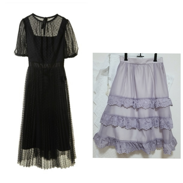 アクセサリーショップの面接にいくのですが、どんな服装が望ましいでしようか?画像にある黒のチュールのロングワンピか、膝がしっかり隠れるくらいの長さの紫色のスカートに白ブラウスか、画像はありませんがシンプ ルに黒のパンツに白の清楚なブラウスかで迷っています。よろしくお願い致します。