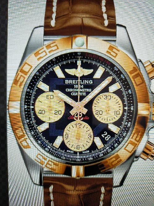 このブライトリングの腕時計は何と 言いますか?
