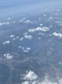 成田発新千歳行きの飛行機から見えたのですが、この湖は何かわかる方いますか? ご回答よろしくお願いいたします。