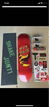 スケートボード メルカリでこのようなセットが16000円ぐらいで大量に販売されていますが、本物で合ってますか?