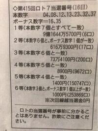 日本でロト7で9億1644万5700円当たってる人が6人もいるんですか?本当に当たっているのでしょうか?