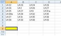 エクセルで文字列の中の数字の最大値を抽出する関数はありませんか? たとえばこの場合、U143が一番大きい数字ですが、A9の中に「143」または「U143」と表示されるようにしたいです。