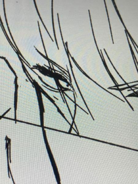 イラスト(コピック)に詳しい方に質問です 画像のような髪と目が完全に重なるところはどう表現しますか? そもそも髪に隠れた目は描かないですか?それとも透けさせて描くのでしょうか…?
