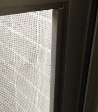 網戸のこういう破けてるのはどうしたらいいですか?  隙間を無くしたいのですが。
