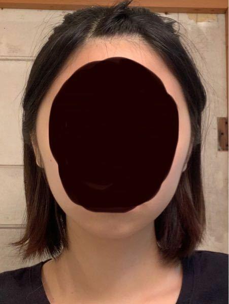 この顔は何型ですか??(卵形・ひし形や面長など…) また、似合う髪型などあれば教えて頂きたいです!