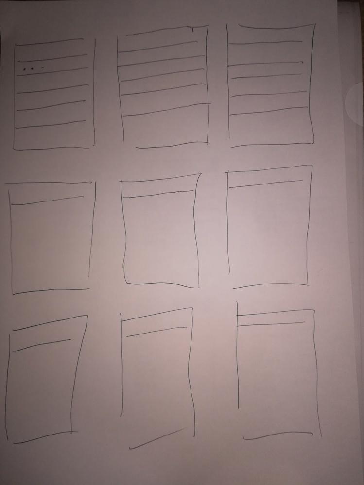 エクセルかワードでこういう表を作りたいのですがどうすればいいですか? A4用紙に印刷したいです。