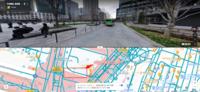 東京駅 丸の内「北口」の一般車の乗降エリアはここであっていますか? 以下のPDFの説明図で確認していますが、実際の場所がちょっとわかりません。 https://www.tokyostationhotel.jp/img/top/tokyo_marunouchi.pdf  Googleマップで確認したのですが、以下のバスが止まっている手前あたりが、 現在は一般状況エリアとして利用可能な場所でしょうか?