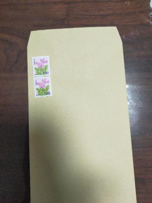 これで定期型郵便 規格外になりますか?