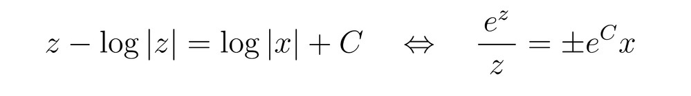 logを外すときの変形について 画像の↔︎の左から右に変形するにあたって、 左辺の式変形の過程を教えて頂きたいです よろしくお願いします。
