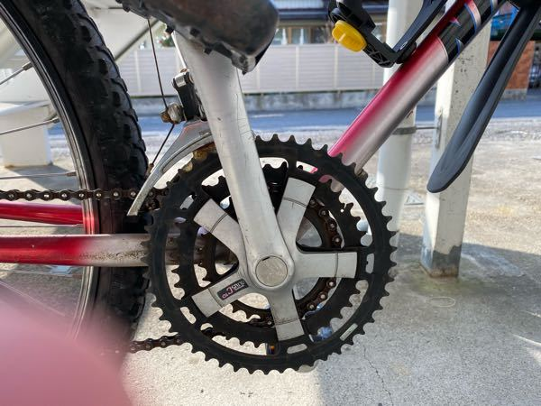 マウンテンバイクにチェーンガードをつけたいんですけど、なんでも付けれるんですか?