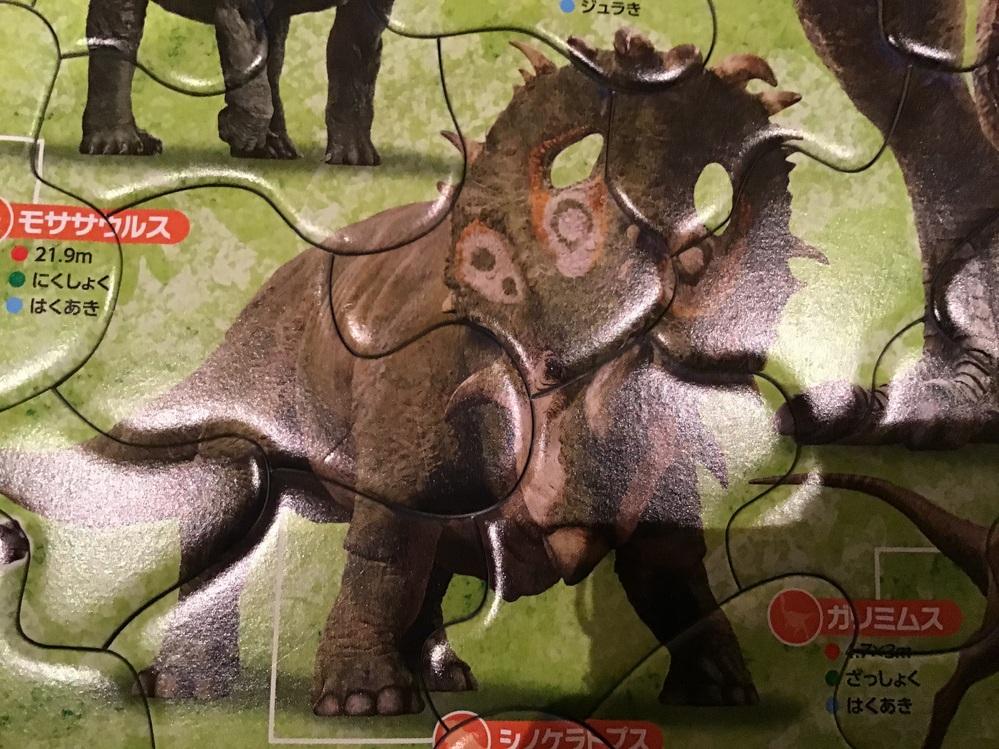 シノケラトプスは図鑑に載ってなかったけど本当にいるのですか?