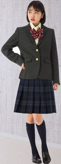 ブレザー女子高生は、チェックのスカートの下に何を履いているイメージ? . セーラー服姿の女子高生と言えば、セットになった紺色のスカートの下には ブルマを履いていそうなイメージですが、  では、この画像の様なブレザー姿の女子高生の場合、 制服とセットになったチェック柄のスカートの下には 何を履いていそうなイメージを抱きますか?