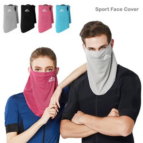 夏、暑いから… こんなマスクをして街中を歩いたり 電車に乗って出かけたりしたいんだけど… マスク警察に、捕まりますか?
