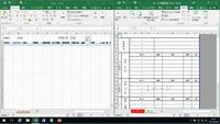 Excelマクロの転記についてです。 workbookにはデータシートと写真のような日報シートがあります。データシートには必要事項をユーザーフォームで入力できるようにしたのですが、うちの組織がどうしても紙ベースの決 裁にこだわっているため日報シートに転記する必要があります。 データシートには、日付、担当、時間開始などの項目があります。そこで、条件があえば、この日報シートの空白欄に上から順番に...
