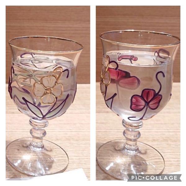 日本酒のグラスについて 先日伺った和食屋さんででてきたグラスがすごく好みだったのですが、自分で探しても見つからず、、。 こちらのグラスがどこのものかわかる方いらっしゃいましたら教えて下さい!